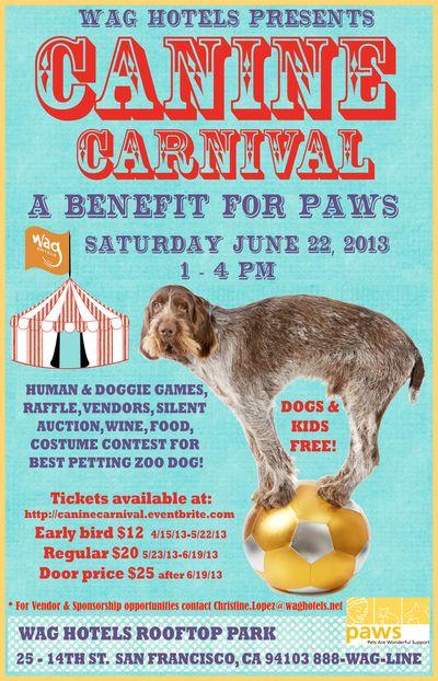 Canine Carnival Flier