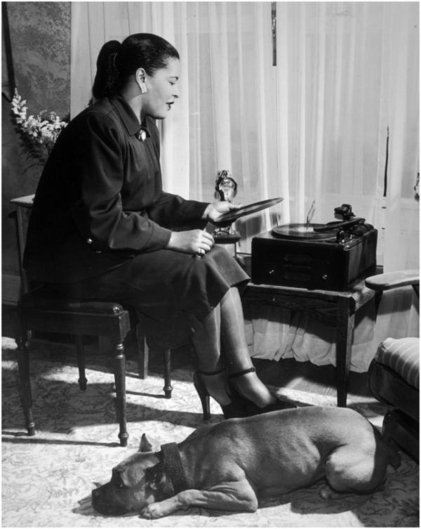 Happy 100th Birthday Billie Holiday, legendary jazz singer and dog lover! - Grouchy Puppy\u00ae Blog